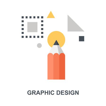 Graphic Design icon concept