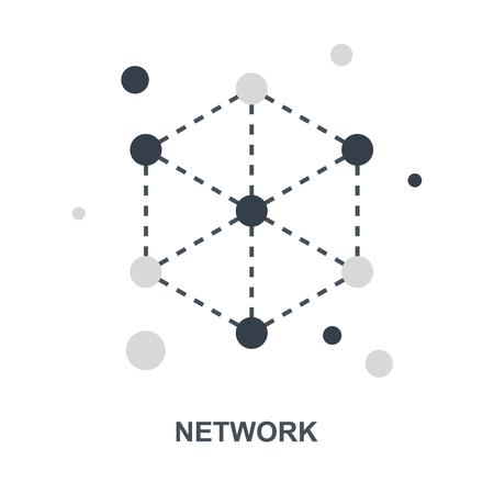Network icon concept Ilustração
