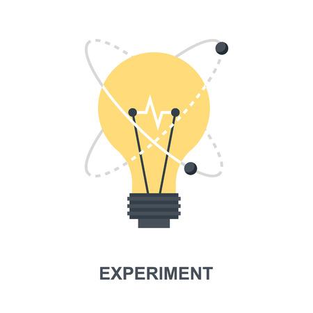 Experiment icon concept
