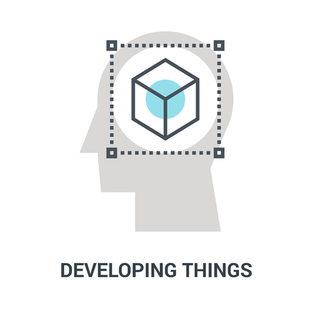 developing things icon concept