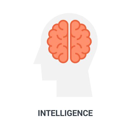 intelligence icon concept