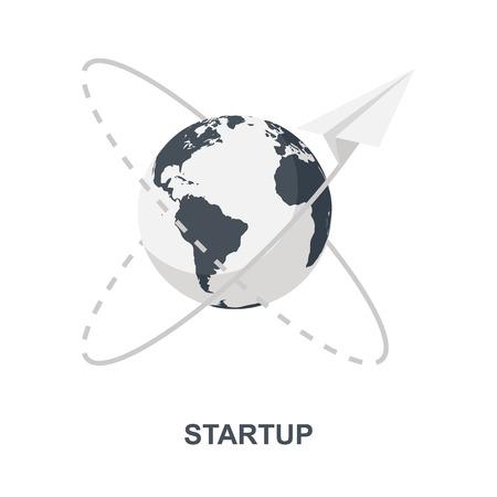 Startup icon concept
