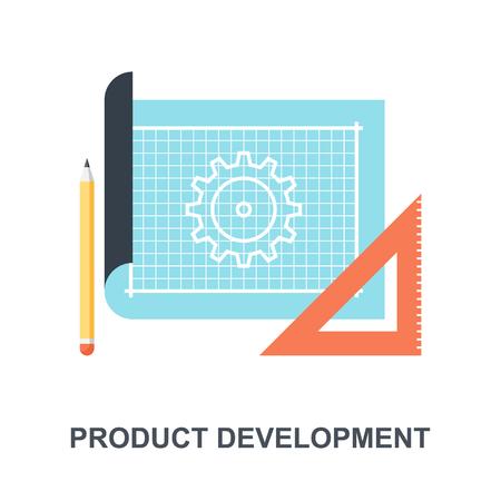 Product Development icon concept Ilustração