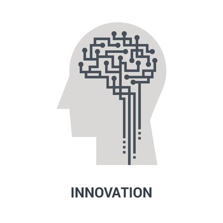 innovation icon concept Ilustração