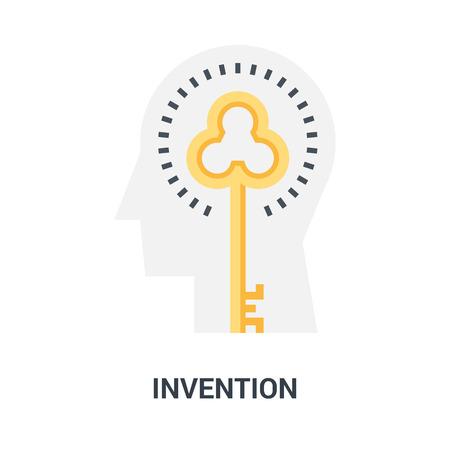 invention icon concept