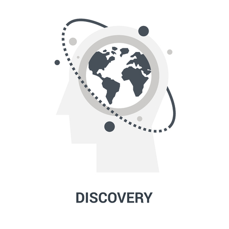 discovery icon concept