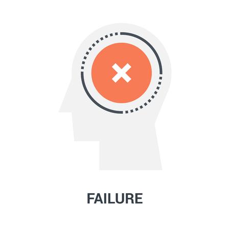 failure icon concept