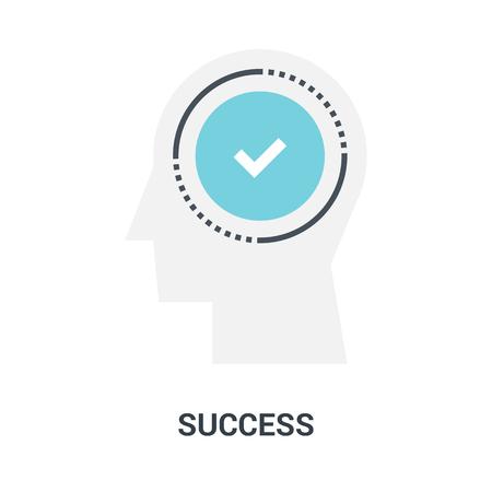 success icon concept Ilustração