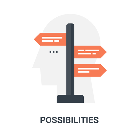 possibilities icon concept