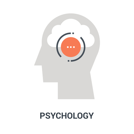 psychology icon concept Vectores
