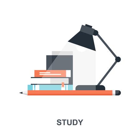 Study icon concept