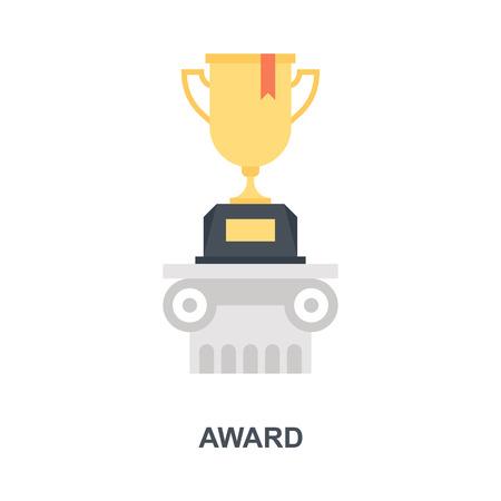 Award icon concept