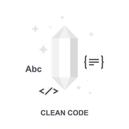 Clean Code icon concept Imagens - 115201009