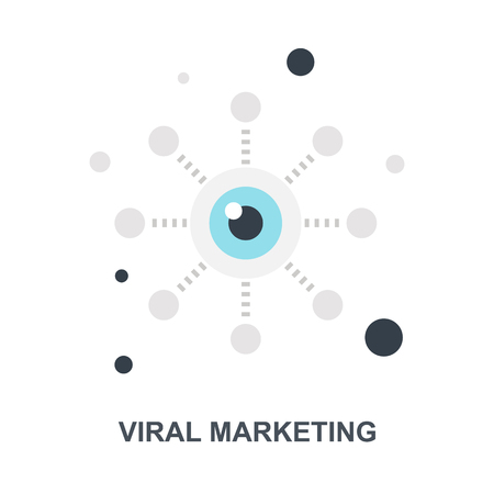 Viral Marketing icon concept Banco de Imagens - 115201012
