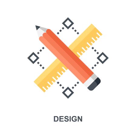Design icon concept Çizim