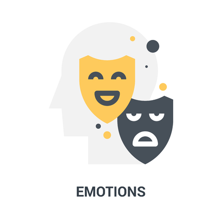 emotions icon concept