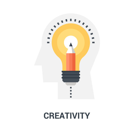 creativity icon concept