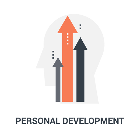 personal development icon concept