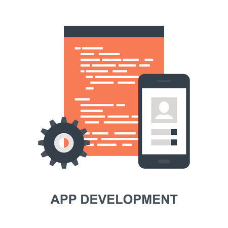 App Development icon concept