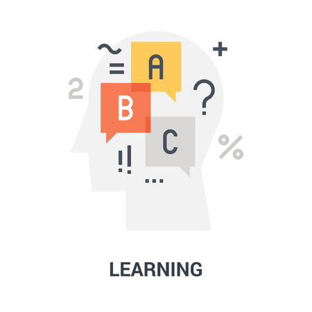 learning icon concept