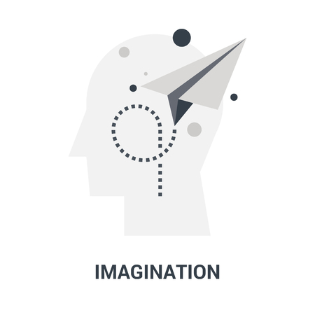 imagination icon concept
