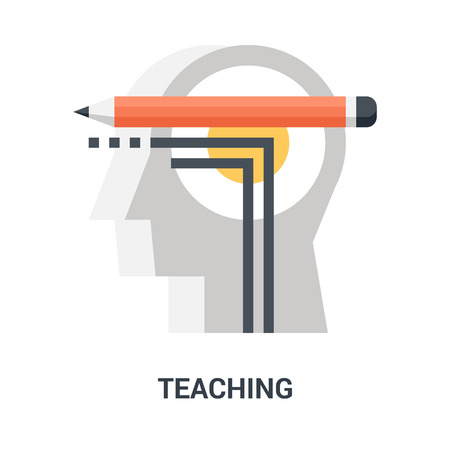 teaching icon concept