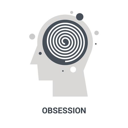 obsession icon concept
