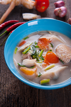 Thai Chicken Coconut Soup Tom Kha Gai