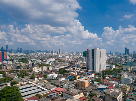 view of city landscape in Bangkok Thailand