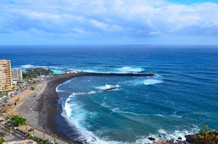 View from mirador de La Paz, Puerto de la Cruz, Tenerife, Canary island