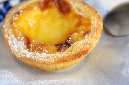 Pasteis de Belem is a typical Portuguese egg tart pastries are baked since 1837. Even today, Pastel de nata cake make using traditional methods and according to the Jeronimos Monastery secret recipe