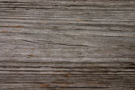 decking: Weathered wood grain background. Stock Photo