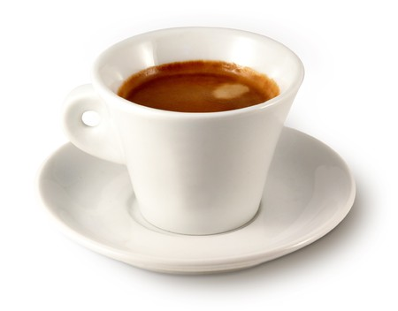 musetti: Coffee cup (one) Stock Photo