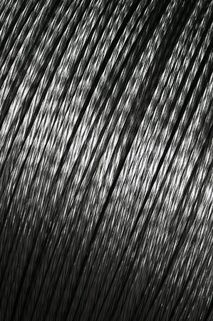 aluminum wire on big spool