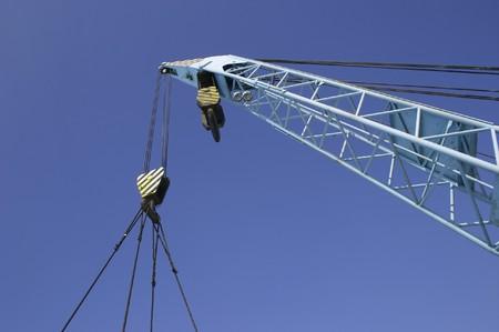 jib of the lifting crane