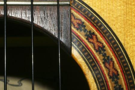 part of guitar