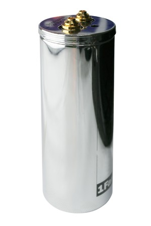 electrolytic: condensador grande - 1 faradio!