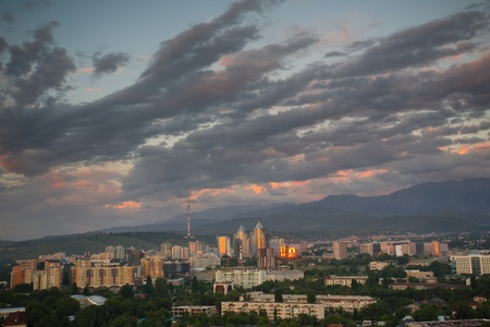 Almaty - former capital of Kazakhstan