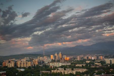 Almaty - former capital of Kazakhstan
