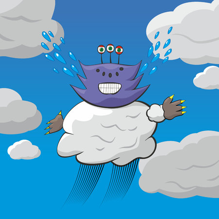 The weather demon at work