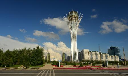 Center of capital of Kazakhstan - Astana. Editorial