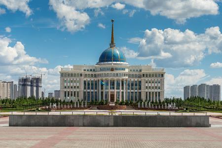 residence: President of Kazakhstan residence. Astana Editorial