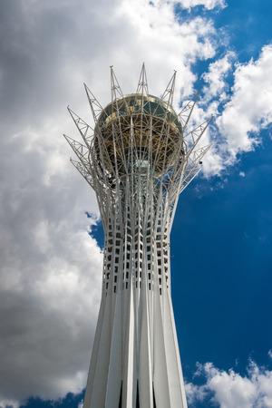 Symbol of capital of Kazakhstan - Bayterek.