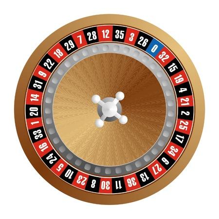 roulette wheel (vector)