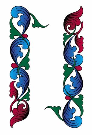 Russian ornament #2 Illustration