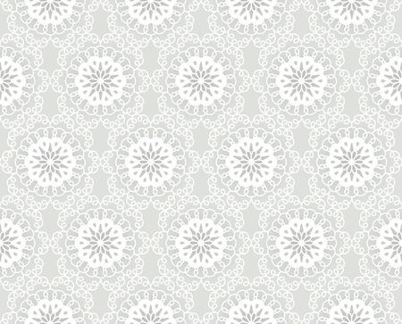 ligature: Seamless lacy pattern in white-gray light colours