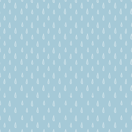 humidity: Seamless blue-gray pattern with raindrops