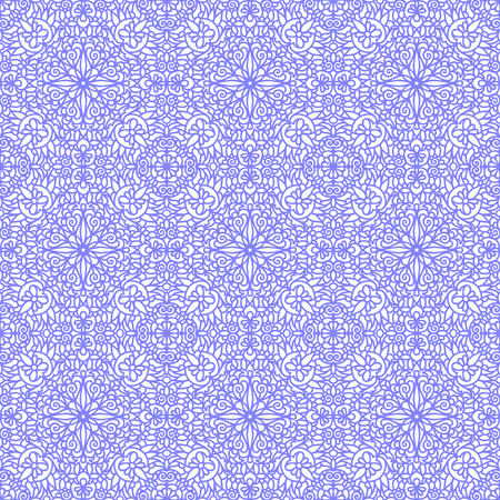 bicolor: Seamless bicolor pattern with floral motifs