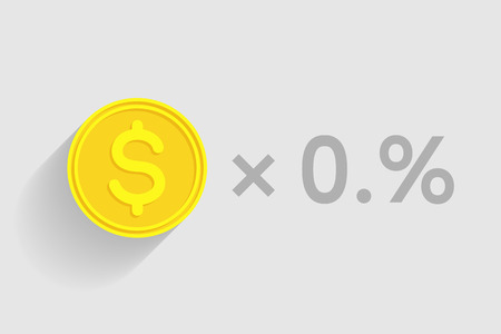 pecuniary: Stack of gold coins with dollar sign as element of financial business-formula. Tax percentage, profit interest and other economic indicators