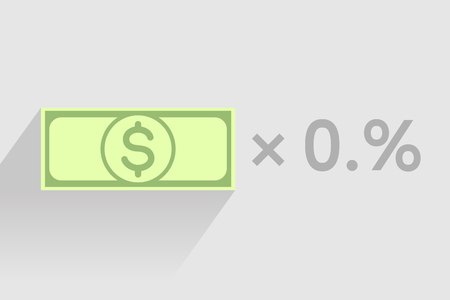 money exchange: Stack of green banknotes with dollar sign as element of monetary financial business-formula. Tax percentage, profit interest and other economic indicators
